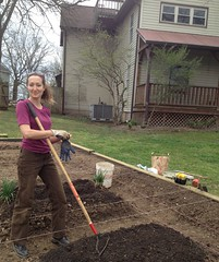 "Sarah helped us start our gardens • <a style=""font-size:0.8em;"" href=""http://www.flickr.com/photos/97544248@N02/9522403860/"" target=""_blank"">View on Flickr</a>"