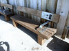 Audio Bench Oak - Aberavon Seafront