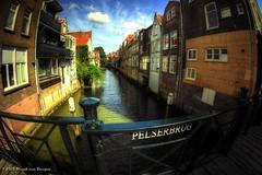 Dordrecht - Pelserbrug - 2013 (Fr@nk ) Tags: topf25 topf50 topf75 europe dordrecht topf100 zuidholland 2816mm fisheyeconverter dsc00459 sonynex5 watmooi mrtungsten62 frankvandongen wwworvilnl