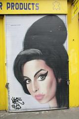 Graffiti (Ian Press Photography) Tags: street streetart brick london art graffiti artist amy east lane shoreditch winehouse