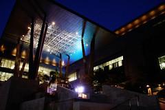 Nigh (Benny2006) Tags: blue light sky building night jeddah saudiarabia studentcenter kaust