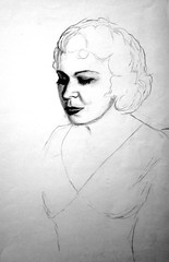 "Mae West charcoal1 • <a style=""font-size:0.8em;"" href=""https://www.flickr.com/photos/78624443@N00/9758269742/"" target=""_blank"">View on Flickr</a>"