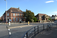 Liverpool Ave Ainsdale Library 2013 09 29 Due For Closure 16 Police Station To Left (Tony Formby & Southport Past) Tags: ainsdale southport merseyside