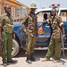 The border police at Manderra | Somalia - Kenya Border
