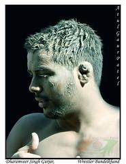 "Dharamveer (India ""Through thick & thin"") Tags: boy india man male men up photography atul mud muscle wrestling wrestler mp patel singh gaur jhansi bundelkhand akhara kushti pahalwan gurjar dharamveer pachkuiya"