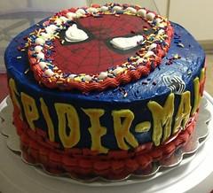 Spiderman Cake. Clayton County, GA, www.birthdaycakes4free.com