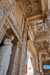 Library of Celsus - Ephesus (MA1216) Tags: travel summer turkey nikon august nikkor dslr tr ephesus izmir efes 2011 d90