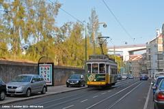 Calada da Tapada (ernstkers) Tags: trolley lisboa lisbon tram lissabon streetcar carris lisbonne 565 bonde tranvia elctrico tramvia ccfl strasenbahn ccfl565