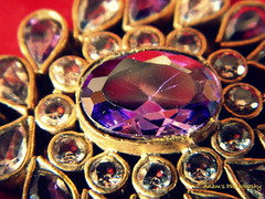 Traditional Jewellery (Anam Sarmad) Tags: red white golden purple indian traditional diamond jewellery pakistani tradition jewels cultural tikka