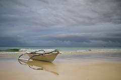 Boracay Island, Philippines (ericmontalban) Tags: morning landscape boat philippines boracay outrigger