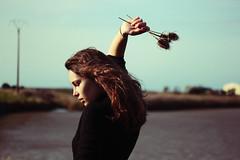 27 (Mathilde.Lr) Tags: ocean clara sea mer flower girl cat vintage la lily tiger salt bretagne retro atlantic le marais baudelaire valise baule atlantique pouliguen salants