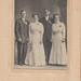 John Klar and Magda Halverson Wedding with Mary Klar and ?