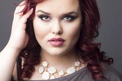 Jessica S (austinspace) Tags: portrait woman studio washington model spokane redhead alienbees makeupexpert