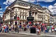 Piccadilly Circus second edition. London July 2013 (Smo_Q) Tags: trip london piccadillycircus londres londra ロンドン londyn 伦敦 런던 лондон pentaxk5