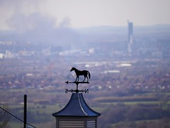 Views From Werneth Low (Smabs Sputzer) Tags: street horse fire view centre massive vane recycling salford duncan
