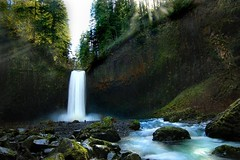 Abiqua Falls (Angel Porter) Tags: specland vision:outdoor=0936