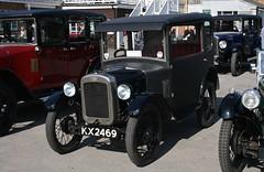 1929 Austin Seven Box Saloon (davocano) Tags: kx2469 brooklands austinmorrisday2014 austin7