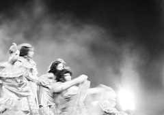 A dance troupe