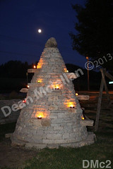 WM Dean Mclellan 2, stone tree, dry laid stone construction, copyright 2014
