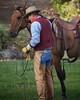 Tom Talking IMG_6270 (blackhawk32) Tags: autumn horses horse tom cowboy shell wranglers wyoming rivercrossing wy wrangler shellwyoming hideoutlodge