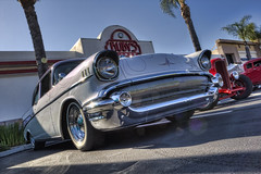 Ruby's Friday Night Cruise (dmentd) Tags: chevrolet chevy 1957 custom
