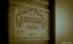 Banal conservation (Alec Ruiz Photo) Tags: chihuahua money history paper de mexico bill banco frame currency dinero billete