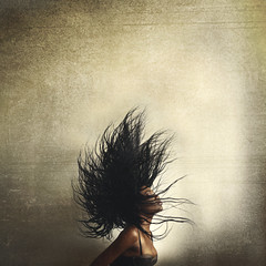 when i close my eyes, it's like a dark paradise (ricardo.galvez) Tags: woman art girl hair women skin fineart conceptual brookeshaden