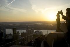 New York (www.sophiethibault.ca) Tags: newyork soleil coucher rockefellercenter toprock touristes