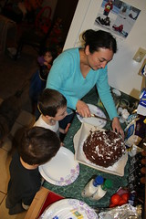 Lisa made an epic cake for Jalila (Aggiewelshes) Tags: cake ben january lisa olsen 2015