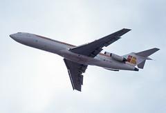 EC-GCK (Paul Thallon - Aviation Photos) Tags: london heathrow boeing lhr iberia 727 egll ecgck 50thanniversaryflypast