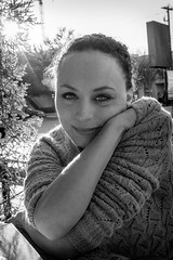 Day_038 (Brandy Barham) Tags: portrait blackandwhite project friend photoaday 365 photooftheday project365