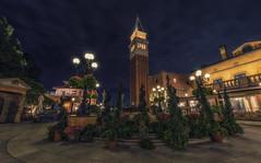 The Piazza (Allen Castillo) Tags: epcot nikon disney wdw waltdisneyworld worldshowcase italypavilion 1424 nikcolorefex nikond610