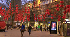 Here Comes The New Year Lowry style (KeithJustKeith) Tags: world life new red night manchester real year chinese royal taken tuesday press exchange lowry in 2015 keithjustkeith rxtheatre jan15jun15 keithjustkeith2015