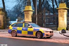 BMW 3series F31 Touring Glasgow 2015 (seifracing) Tags: ford fire scotland traffic britain glasgow transport scottish police vehicles bmw emergency polizei spotting services policia strathclyde brigade polizia 2015 seifracing sf14nnk