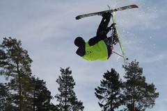 Back Flip (Dencku) Tags: ski canon jump skiing downhill trick grab slalom 2015 kirkkonummi hyppy peuramaa temppu kyrksltt grabi eos7d skida bkkri lakettelu hjortlandet backare hiiht hpp