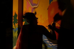 DSC04255_resize (selim.ahmed) Tags: nightphotography festival dhaka voightlander bangladesh nokton boishakh charukola nex6