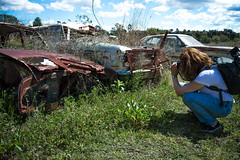 Cars of Decay (darkday.) Tags: old pink blue urban orange woman brown hot sexy cars abandoned love broken beautiful grass car metal danger naughty dead photography graffiti foxy photo rust breasts peeling paint pretty risk flat legs decay butt extreme descent sunny australia tights brisbane bum dirty adventure explore jeans mum mature urbanexploration infiltration attractive qld queensland pontiac tight aussie exploration seeker milf muddy fit tyre thrill ue urbex queenslander milfs abando brisbaneurbex placehacking australianurbex queenslandurbex