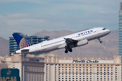 United Airlines Airbus A320 N457UA (jbp274) Tags: las airport united airplanes airbus klas mccarran ua unitedairlines a320