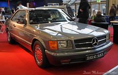 MB 560SEC (Schwanzus_Longus) Tags: two black classic car sedan vintage germany mercedes benz paint limo german vehicle oldtimer bremen done expensive sec job saloon luxury limousine motorshow 560 560sec