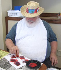 John Painting (Pictures by Ann) Tags: blue red white holiday color art john painting star paint time creative july help volunteering coloring service activity volunteer 4thofjuly fourth redwhiteandblue homeschool communityservice ot seniors homeschooling helping donate nursinghome handson seniorcitizens donating occupationaltherapy finemotor