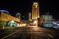 New Orleans after dark (ap0013) Tags: new orleans louisiana city cityscape night longexposure nighttime abandoned la neworleans neworleanslouisiana