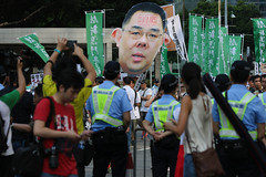 5-15-2016_Demonstration_MPA_14 (macauphotoagency) Tags: china new money streets outdoors university chief police government block macau demonstrations executive sai donations association chui macao on may15 protestants policeforce 5152016 newmacauassociation insatisfation