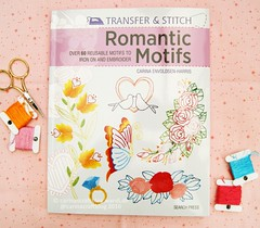 Romantic Motifs (Carina » Polka & Bloom) Tags: embroidery stitching mybook embroiderybook