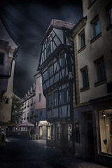 The Night before (M-Z-Photo) Tags: darkart fineart architektur bildbearbeitung ansbach