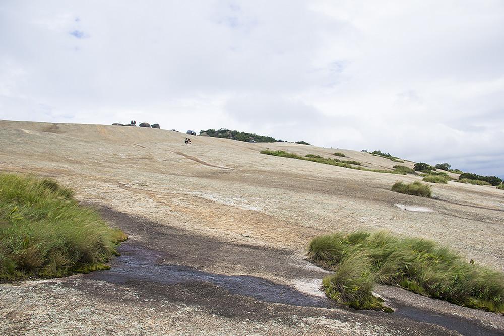 Trilha da Pedra Grande - última subida para o topo da Pedra Grande