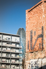 Solar (MarRomeroSala) Tags: barcelona solar arquitectura torre bricks agbar poblenou