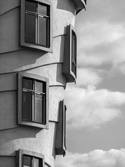 Prague - The dancing houses 5 (puss_in_boots) Tags: houses architecture dancing czech prague praha praga gehry milunic