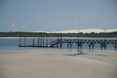 Brazil - Fortim (Nailton Barbosa) Tags: brazil brasil mar nikon bresil brasilien cear litoral brasile ce oceano brsil d800 fortim turbina eolica elica ancoradouro