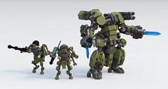 Gladiator drone (Garry_rocks) Tags: lego mecha drone hardsuit