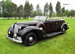 1938 Packard Twelve Series 1608 Convertible Victoria by Derham (JCarnutz) Tags: 1938 victoria twelve packard ccca gilmorecarmuseum grandexperience